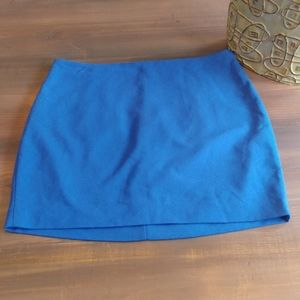 NWT Express blue mini pencil skirt 2376